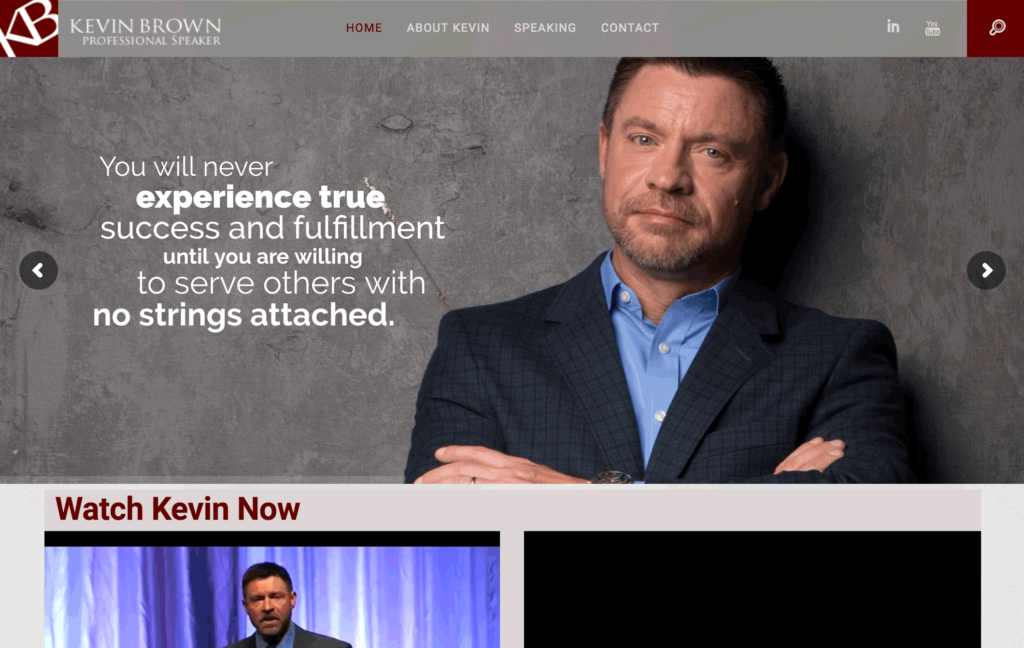 Kevin Brown Professional Speaker