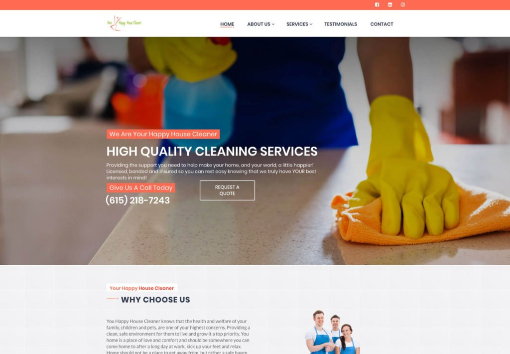 YourHappyHouseCleaner
